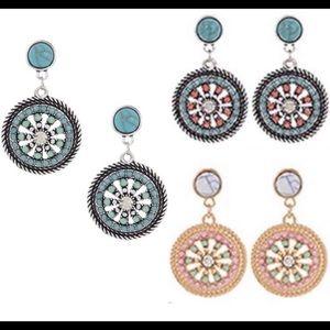 Jewelry - Bohemian earrings.